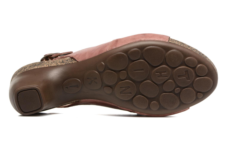 Sandales et nu-pieds Think! Traudi 80567 Rose vue haut