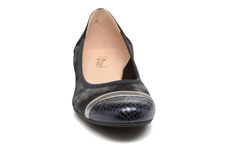 Ballerines Sweet Debler Bleu vue portées chaussures