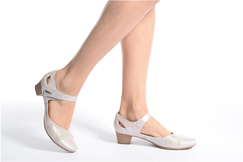 Sandales et nu-pieds Sweet Dibou Bleu vue bas / vue portée sac