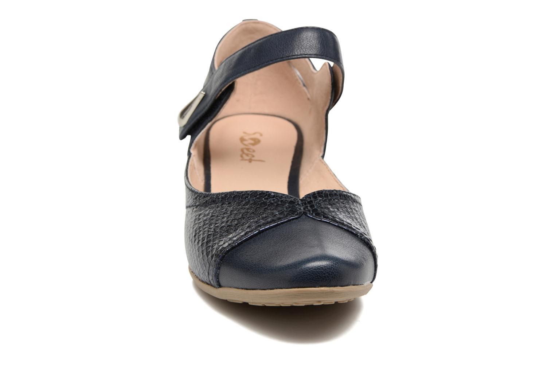 Sandales et nu-pieds Sweet Dibou Bleu vue portées chaussures
