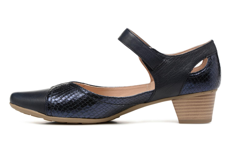 Sandales et nu-pieds Sweet Dibou Bleu vue face