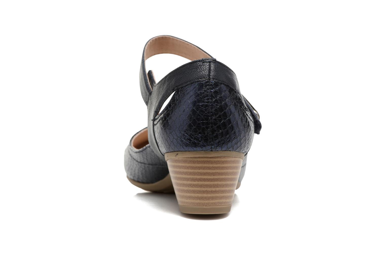 Sandales et nu-pieds Sweet Dibou Bleu vue droite