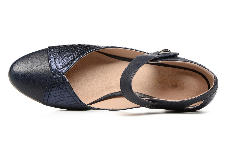 Sandales et nu-pieds Sweet Dibou Bleu vue gauche