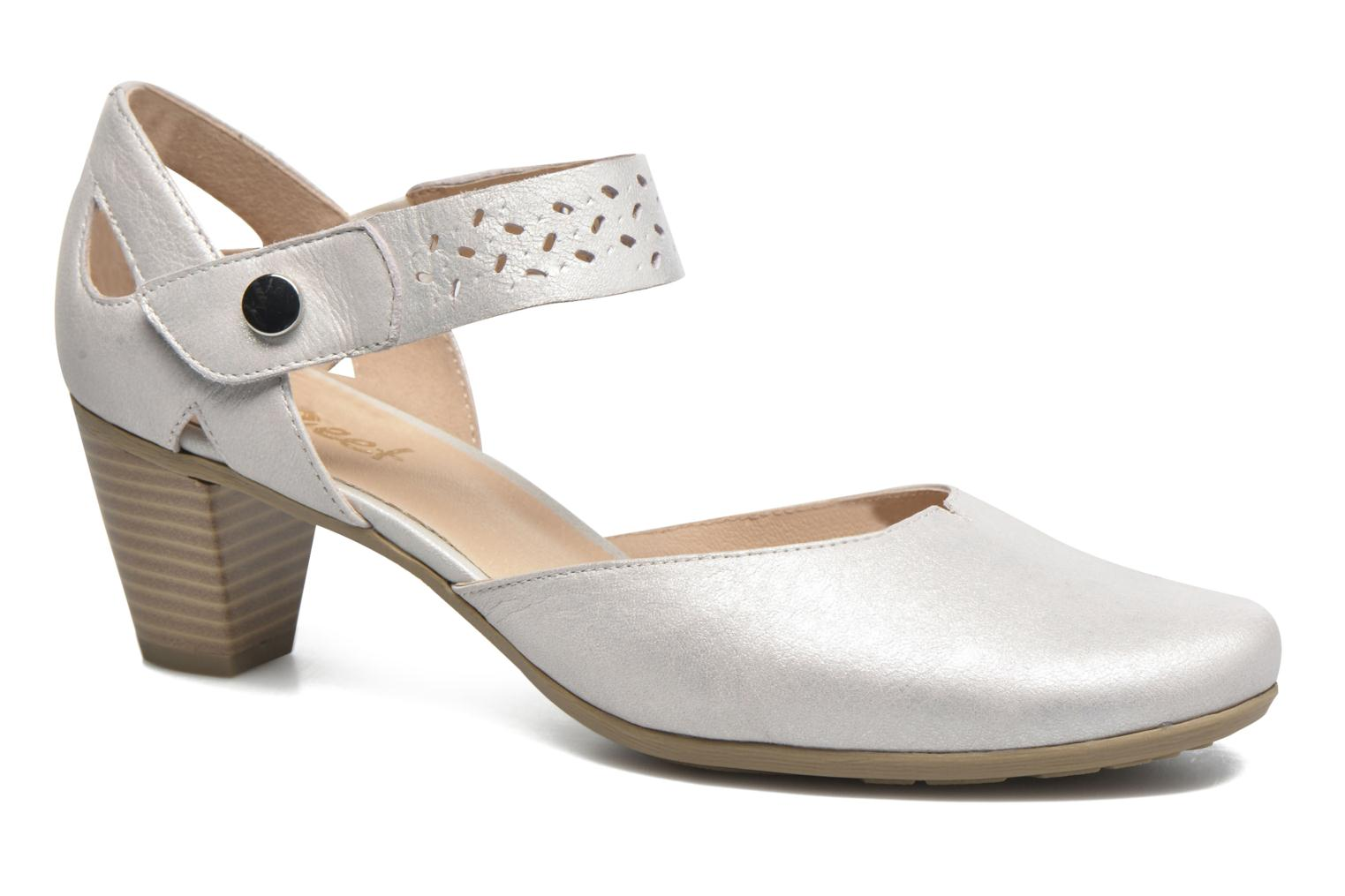 Sandals Sweet Dozia White detailed view/ Pair view