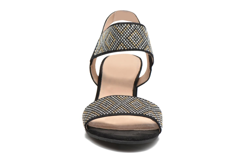 Sandales et nu-pieds Sweet Gold Noir vue portées chaussures