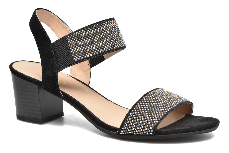 Sandales et nu-pieds Sweet Gold Noir vue détail/paire