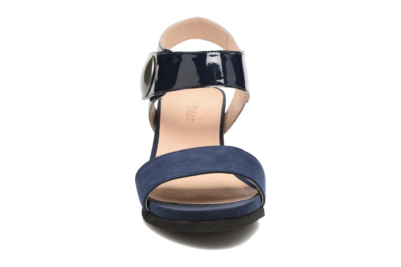 Sandales et nu-pieds Sweet Zuako Bleu vue portées chaussures