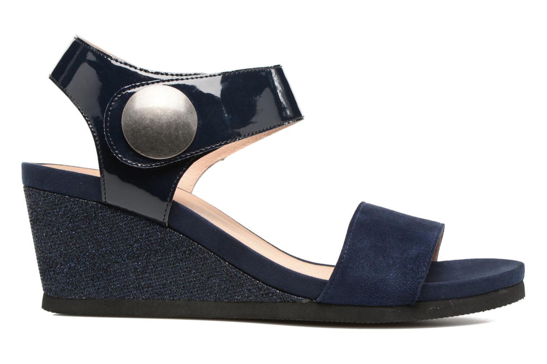 Sandales et nu-pieds Sweet Zuako Bleu vue derrière