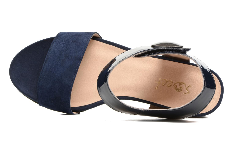 Sandales et nu-pieds Sweet Zuako Bleu vue gauche