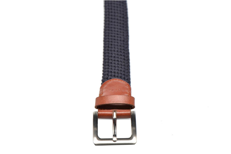 Cinture Esprit Webbing belt synthétique Azzurro modello indossato