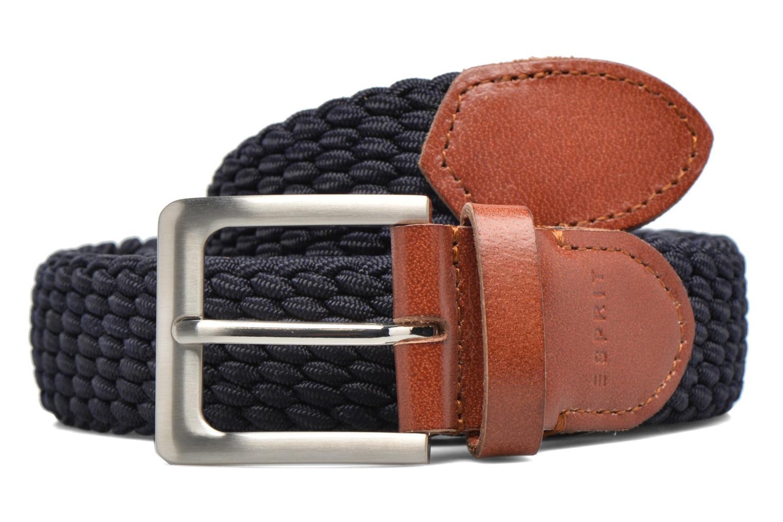 Cinture Esprit Webbing belt synthétique Azzurro vedi dettaglio/paio