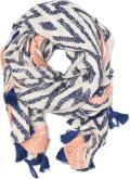 Ethno jacquard scarf 90x190
