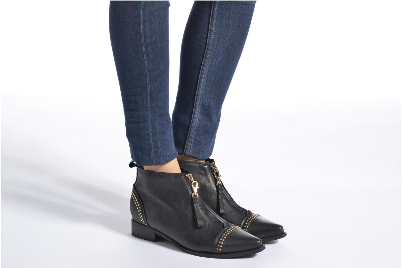 Bottines et boots Shoe the bear Anna Noir vue bas / vue portée sac