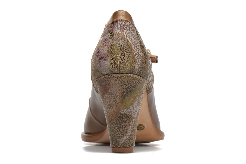 Zapatos de tacón Neosens Beba S930 Marrón vista lateral derecha