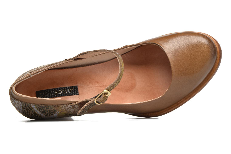 Zapatos de tacón Neosens Beba S930 Marrón vista lateral izquierda