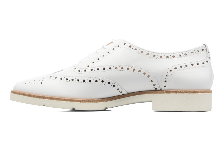 Chaussures à lacets JB MARTIN 1Falba Blanc vue face