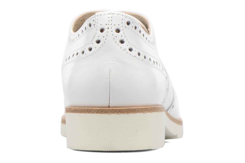 Chaussures à lacets JB MARTIN 1Falba Blanc vue droite