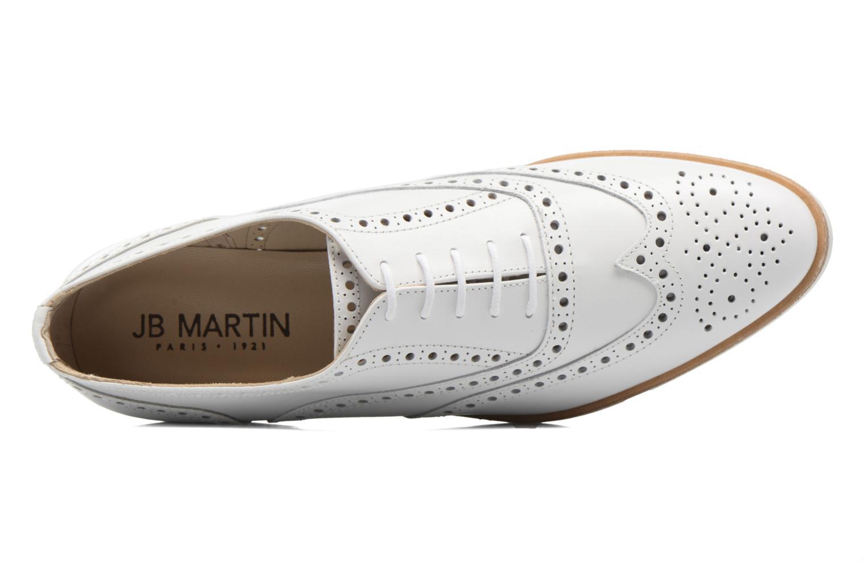 Chaussures à lacets JB MARTIN 1Falba Blanc vue gauche