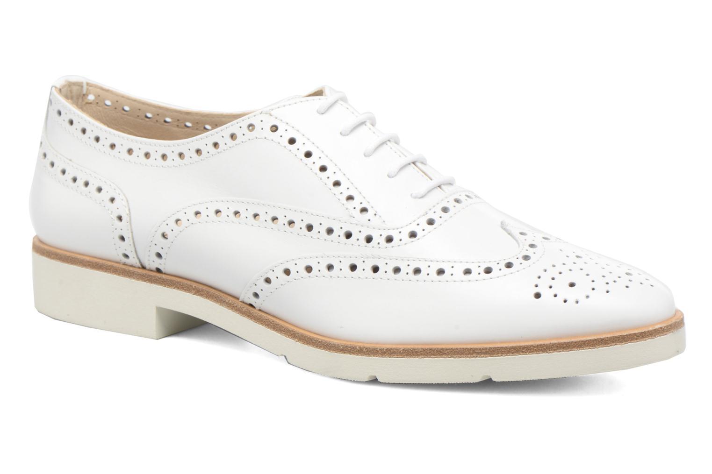 Chaussures à lacets JB MARTIN 1Falba Blanc vue détail/paire