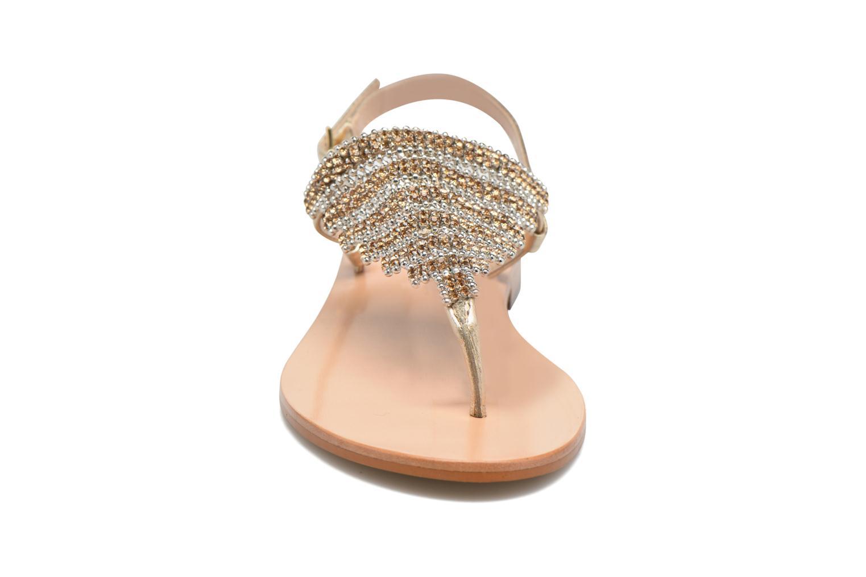 Sandales et nu-pieds JB MARTIN 1Angy Or et bronze vue portées chaussures