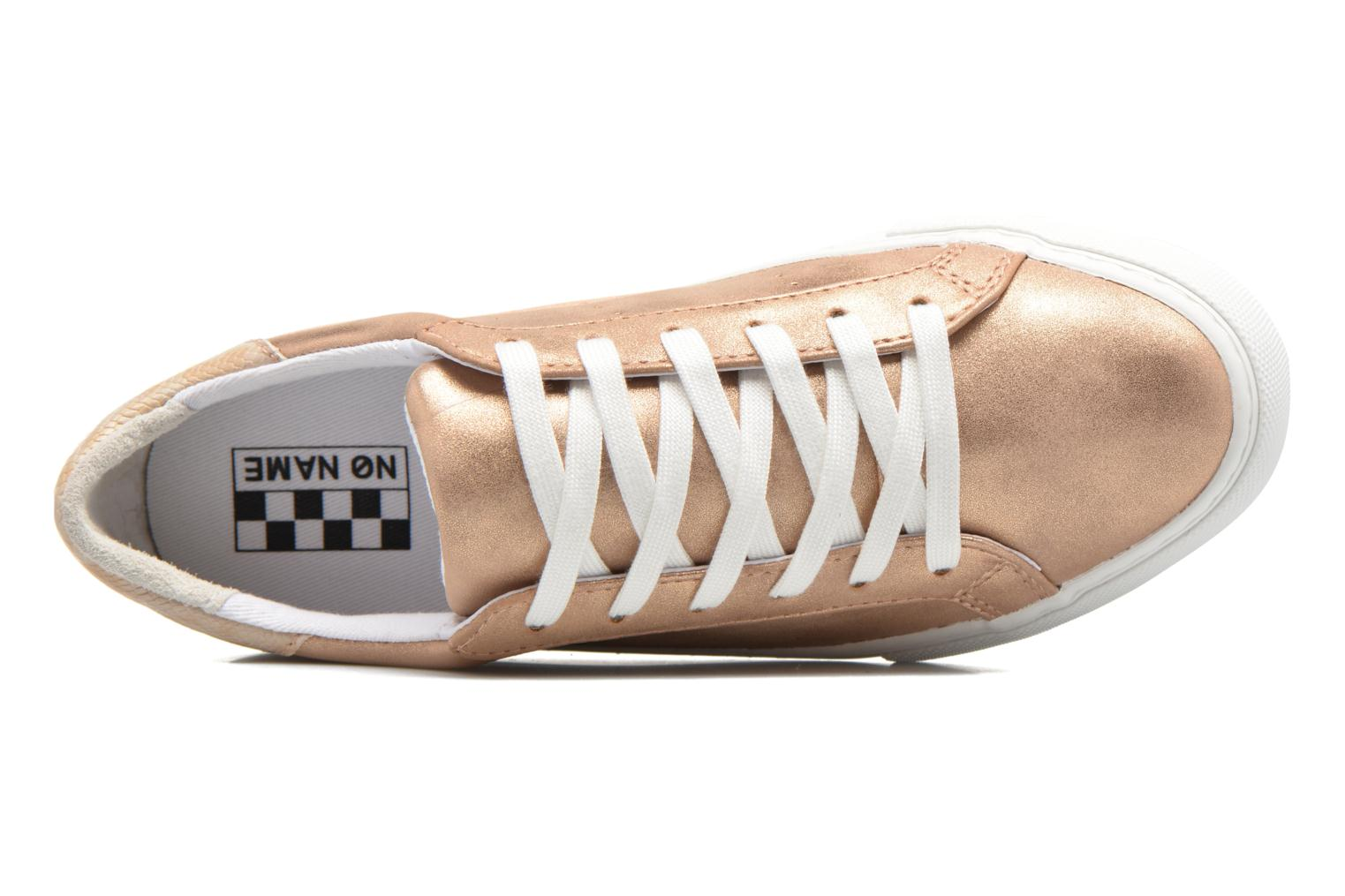 Baskets No Name Arcade Sneaker Glow Or et bronze vue gauche