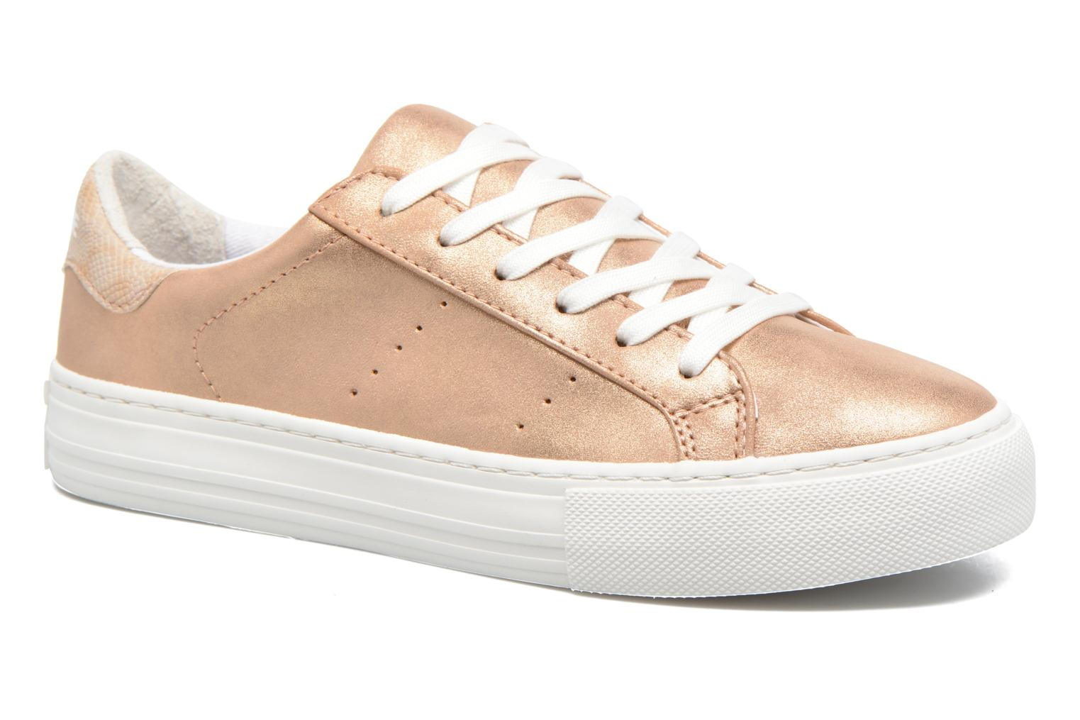 Baskets No Name Arcade Sneaker Glow Or et bronze vue détail/paire