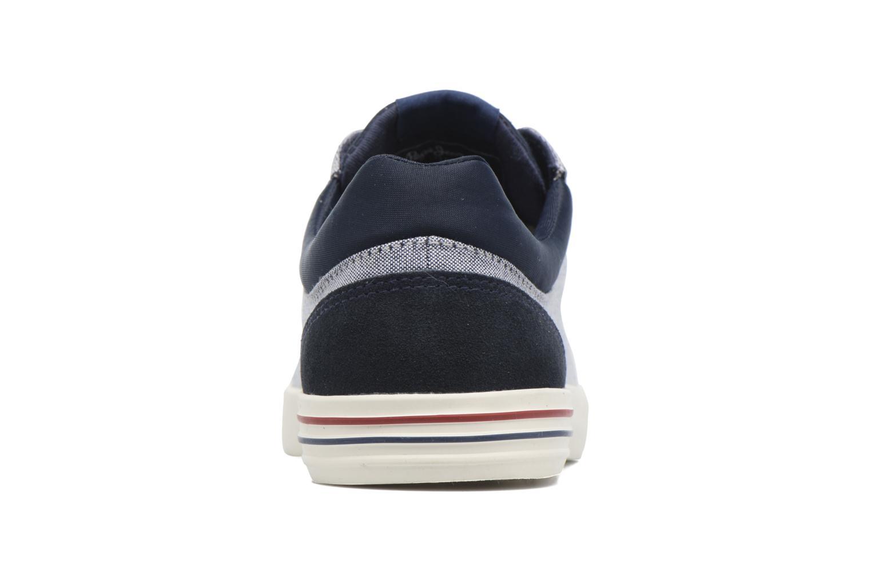 Baskets Pepe jeans North Fabric Bleu vue droite