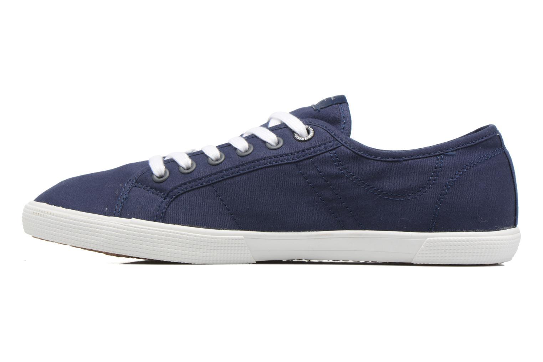 Baskets Pepe jeans Aberman 2.1 Bleu vue face