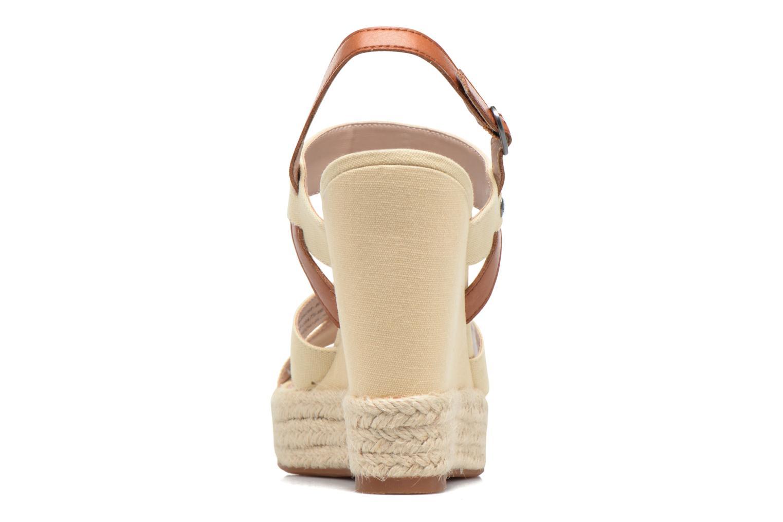 Sandales et nu-pieds Pepe jeans Walker Plain Beige vue droite