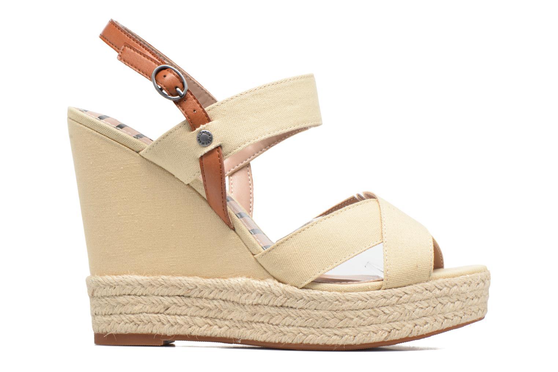 Sandales et nu-pieds Pepe jeans Walker Plain Beige vue derrière