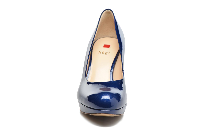 Escarpins HÖGL Kasia Bleu vue portées chaussures