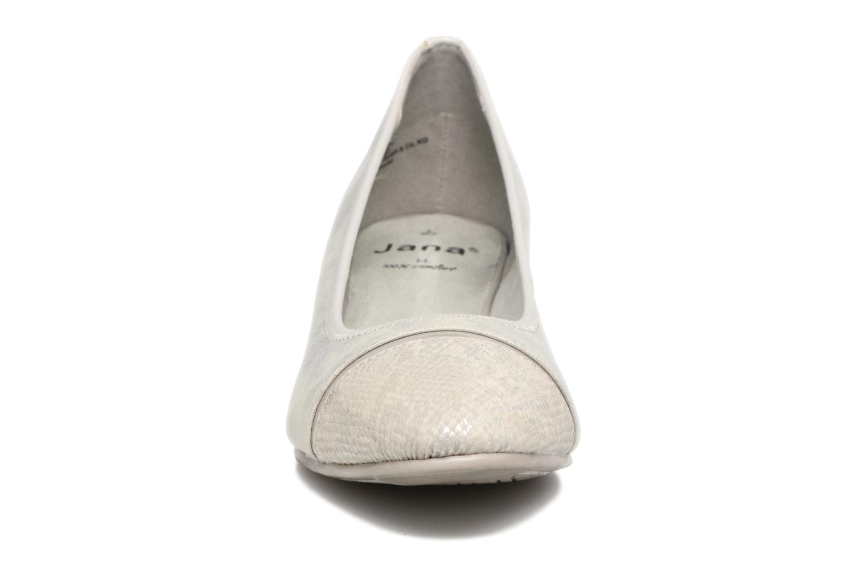 Ballerines Jana shoes Sofia Gris vue portées chaussures
