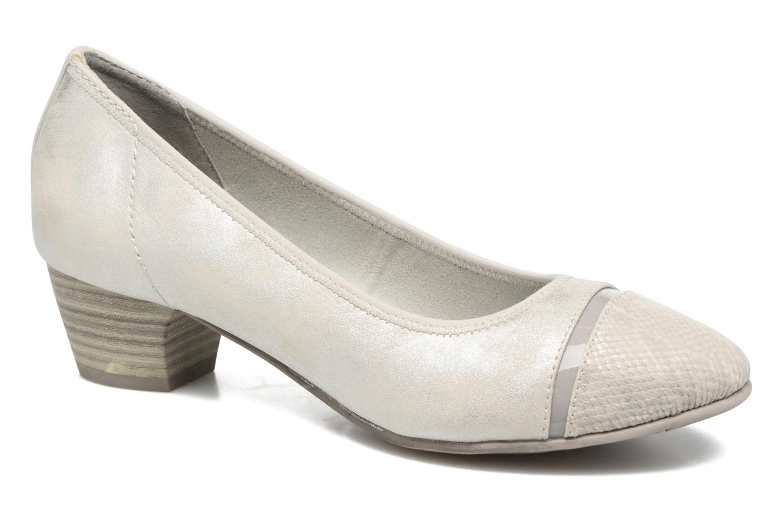 Ballerines Jana shoes Sofia Gris vue détail/paire