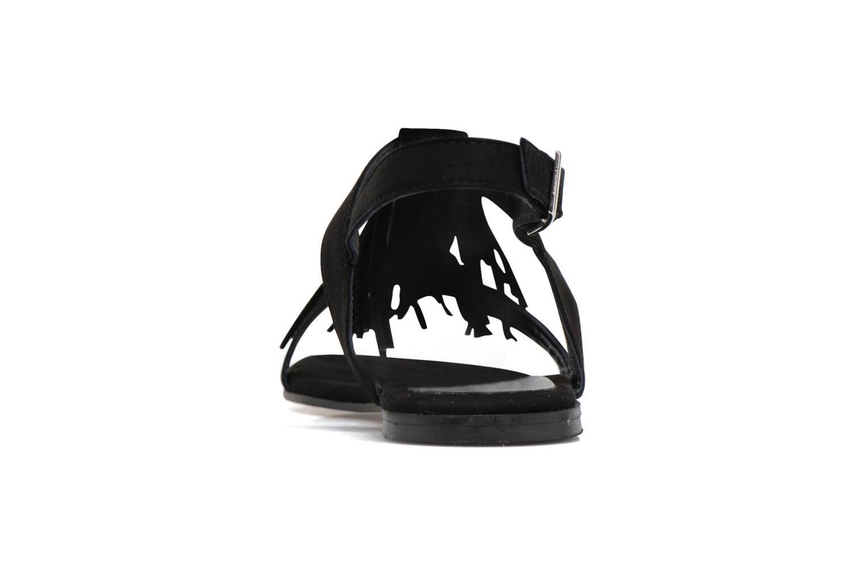 Sandales et nu-pieds Elizabeth Stuart Wlany 606 Noir vue droite