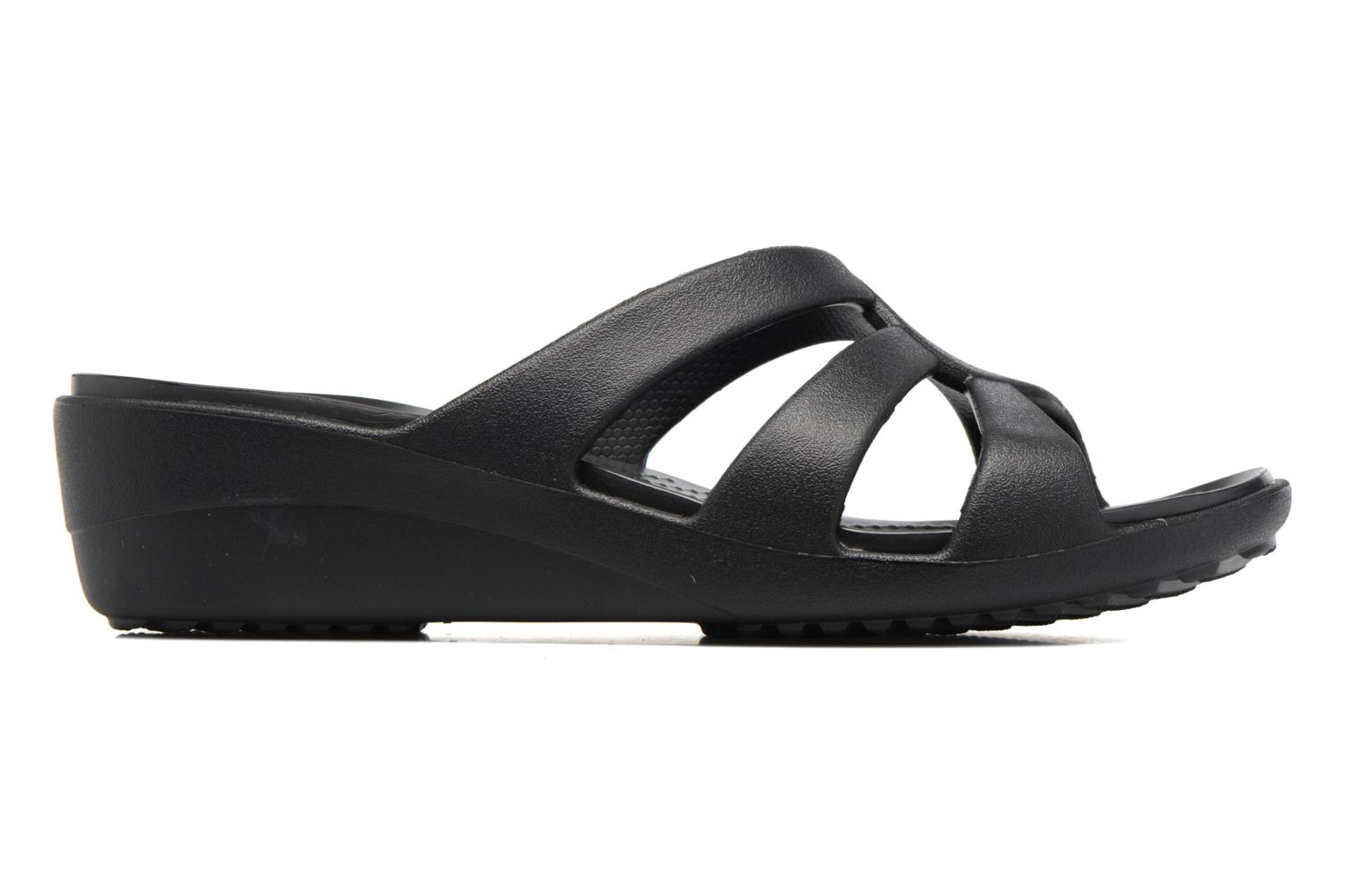 Sanrah Strappy Wedge Black