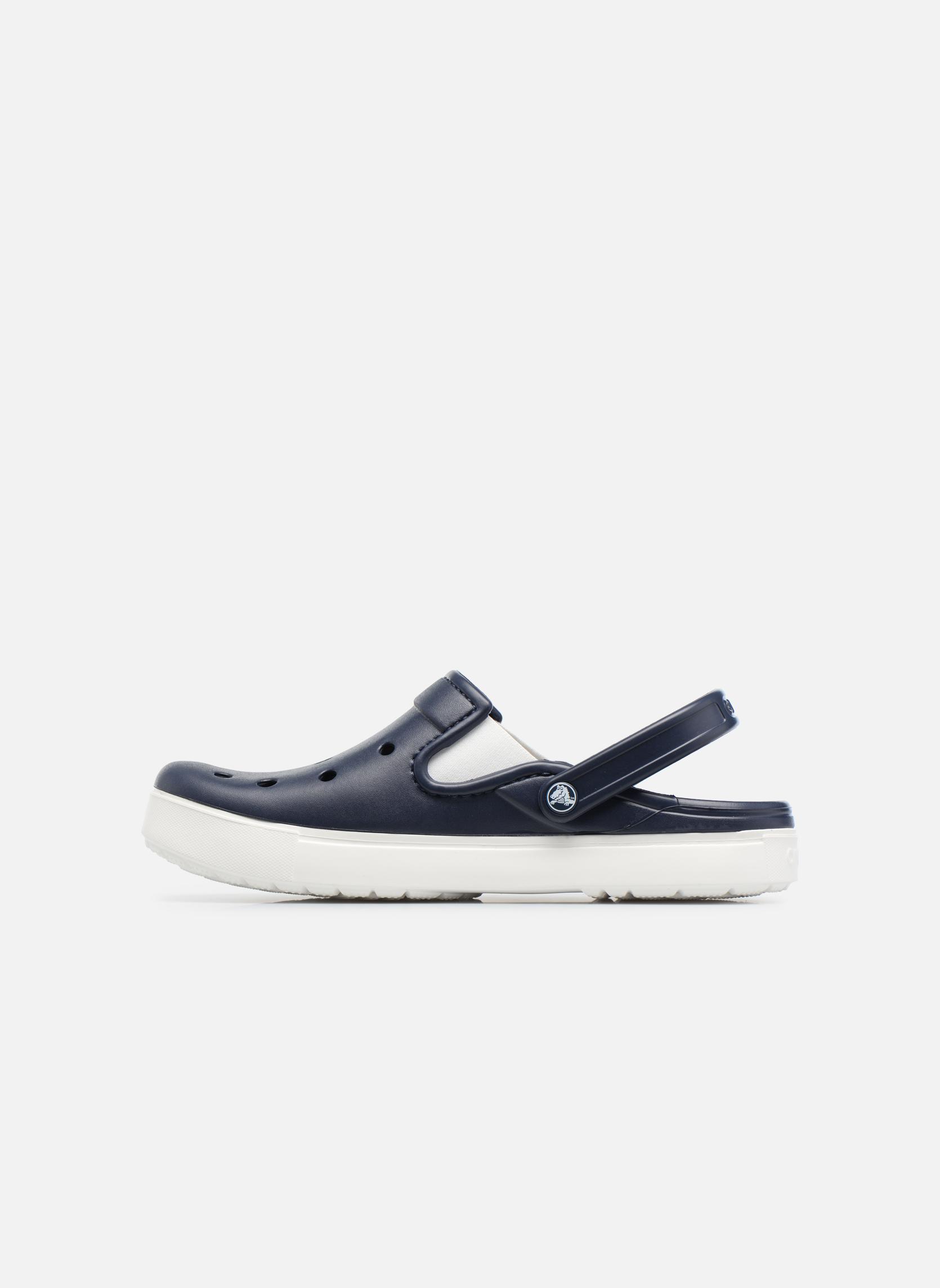 Sandales et nu-pieds Crocs CitiLane Clog Bleu vue face