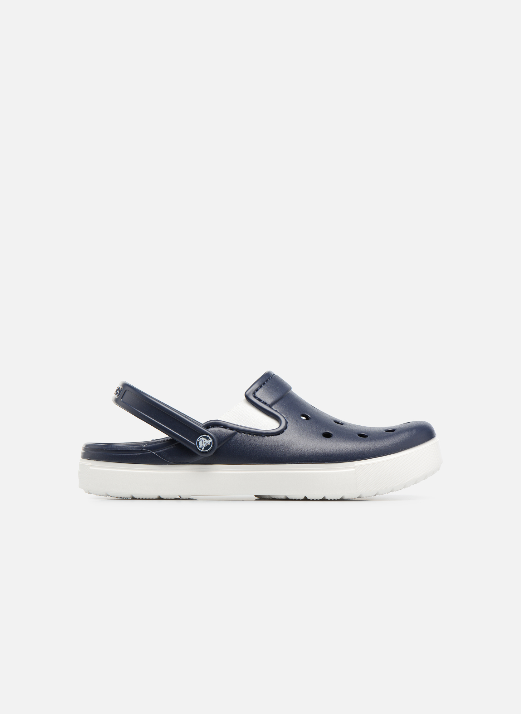 Sandales et nu-pieds Crocs CitiLane Clog Bleu vue derrière