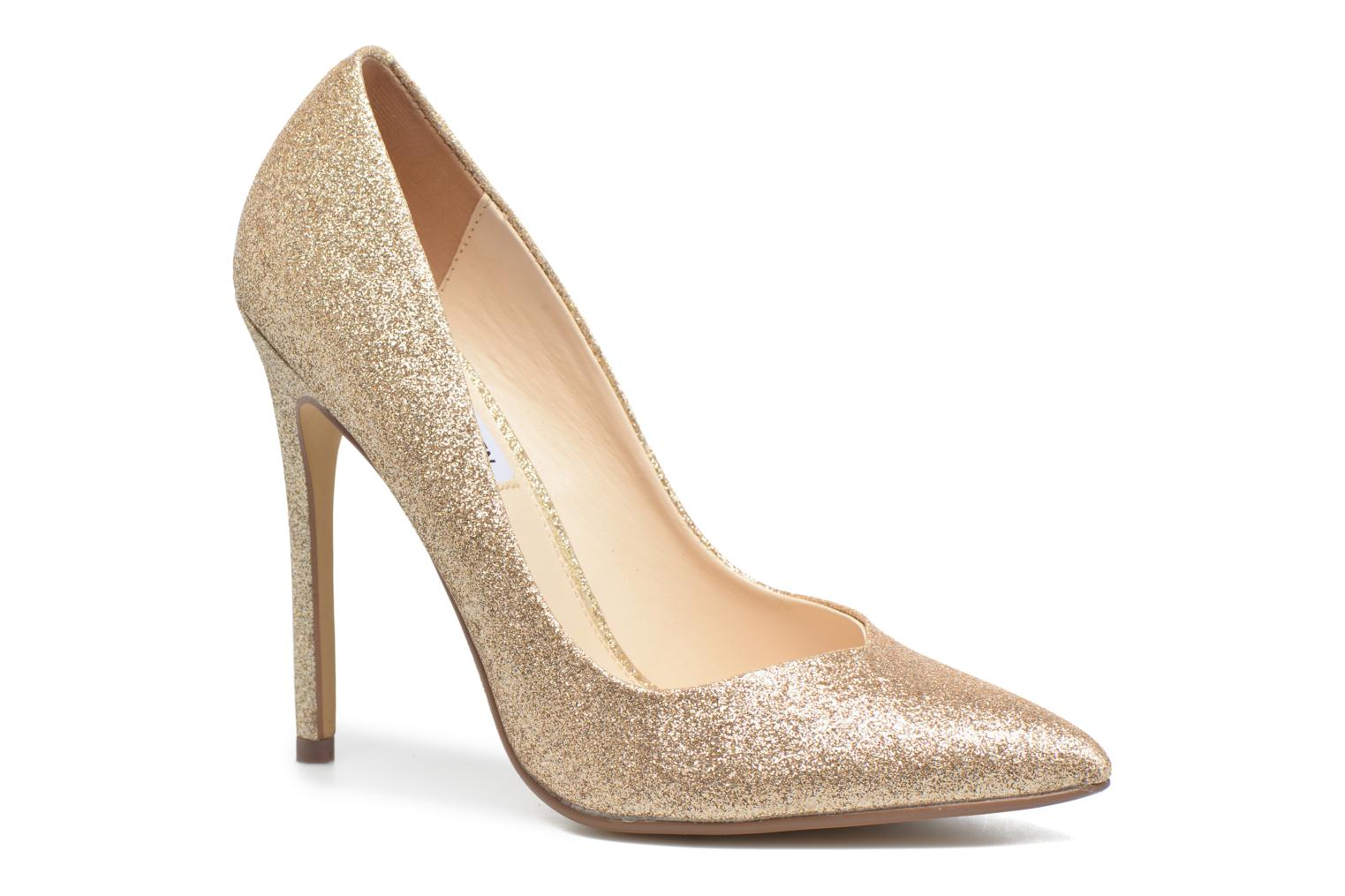 WicketG Pump 15004 Gold Glitter