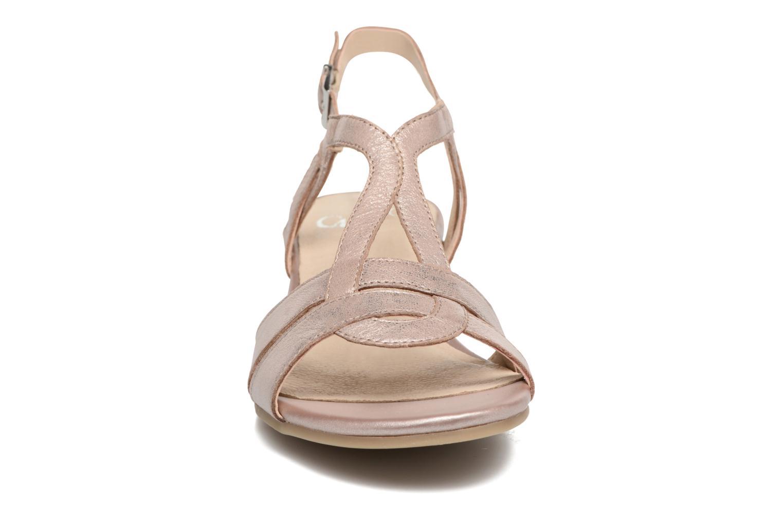 Sandales et nu-pieds Caprice Aneta Rose vue portées chaussures