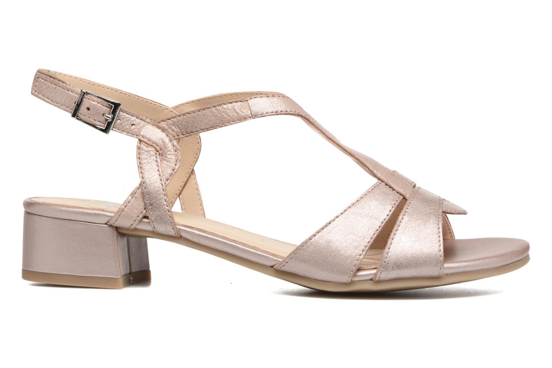 Sandales et nu-pieds Caprice Aneta Rose vue derrière