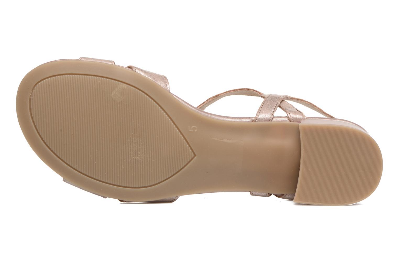 Sandales et nu-pieds Caprice Aneta Rose vue haut
