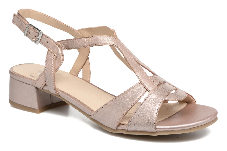 Sandales et nu-pieds Caprice Aneta Rose vue détail/paire