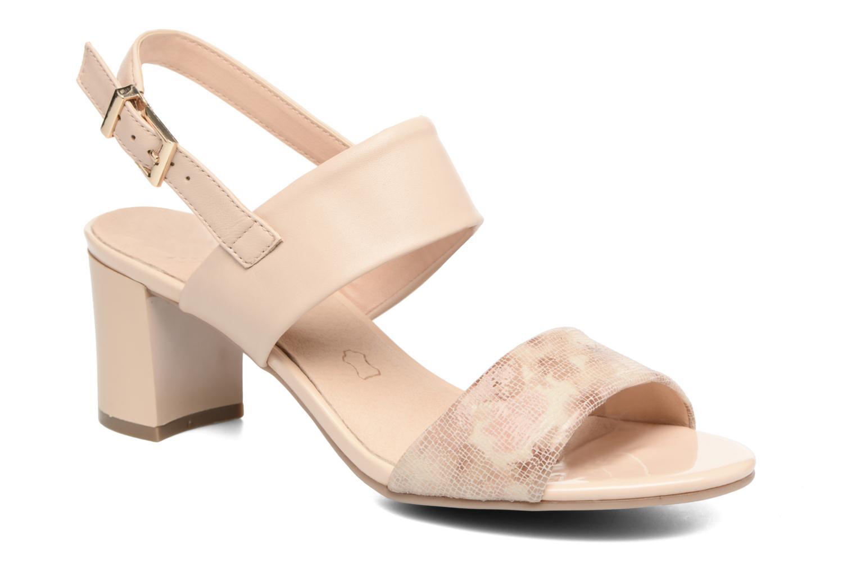 Sandales et nu-pieds Caprice Cecilia Beige vue détail/paire