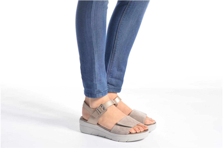 Sandales et nu-pieds Stonefly Aqua III 2 Noir vue bas / vue portée sac