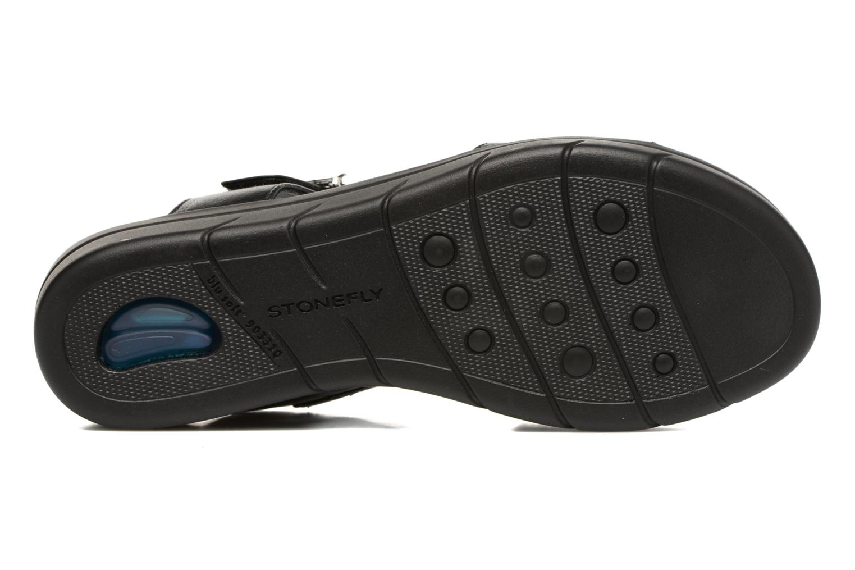 Sandales et nu-pieds Stonefly Aqua III 2 Noir vue haut