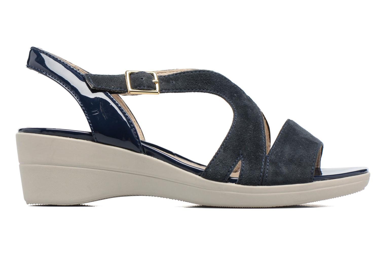 Sandales et nu-pieds Stonefly Vanity III Bleu vue derrière