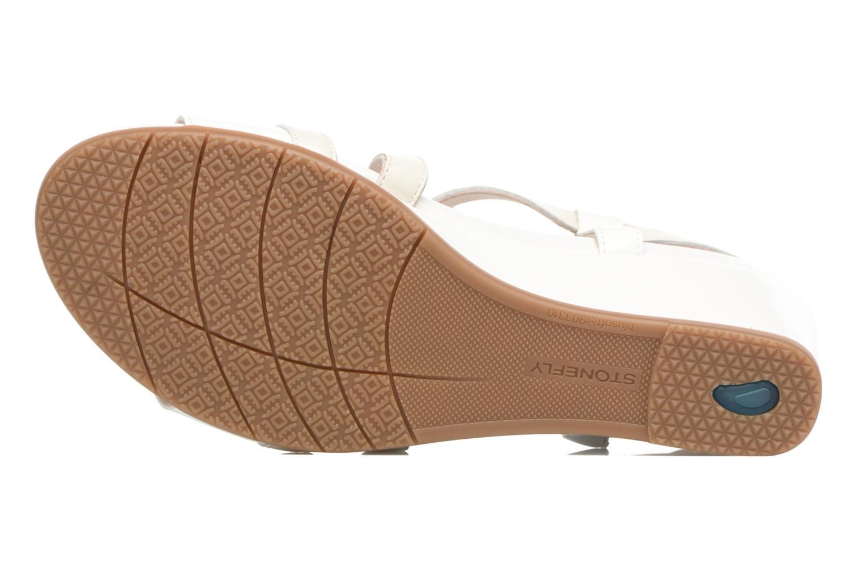 Sandales et nu-pieds Stonefly Sweet III 5 Blanc vue haut
