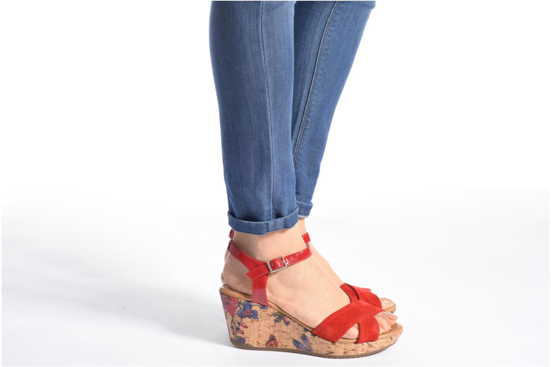 Sandales et nu-pieds Stonefly Marlene II Rouge vue bas / vue portée sac