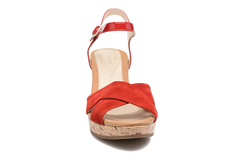 Sandales et nu-pieds Stonefly Marlene II Rouge vue portées chaussures