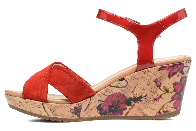 Sandales et nu-pieds Stonefly Marlene II Rouge vue face